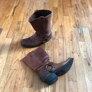 Frye leather boots sz 7